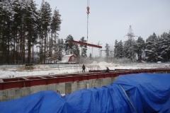 Строительство ПС 500 кВ Трубино (Москва)